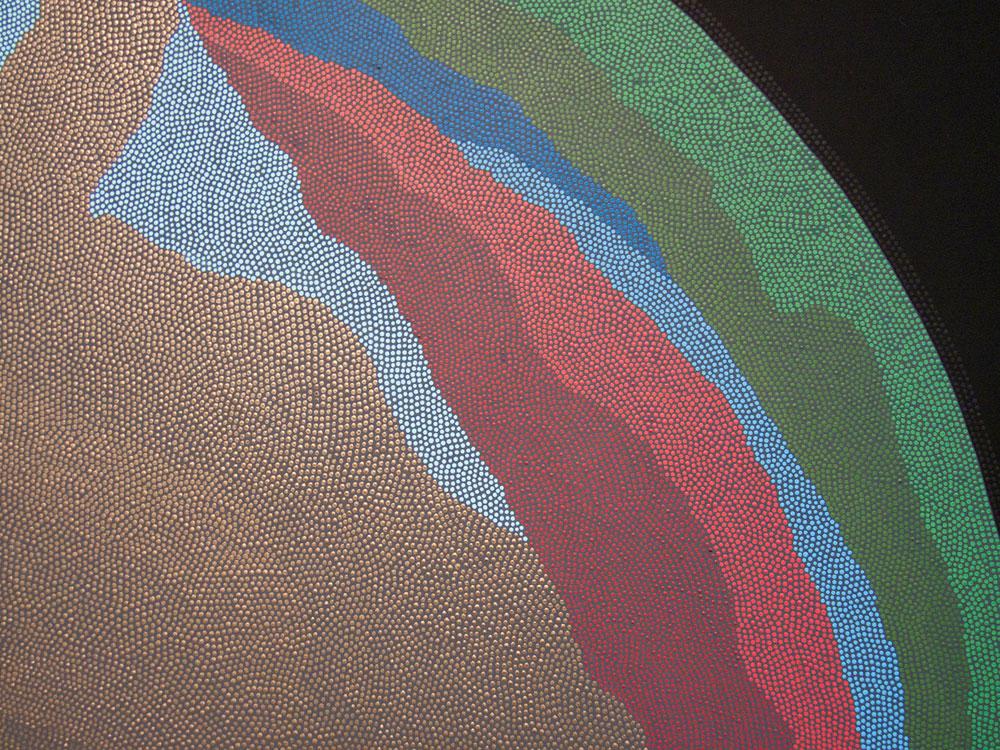 Pieced Orb Detail
